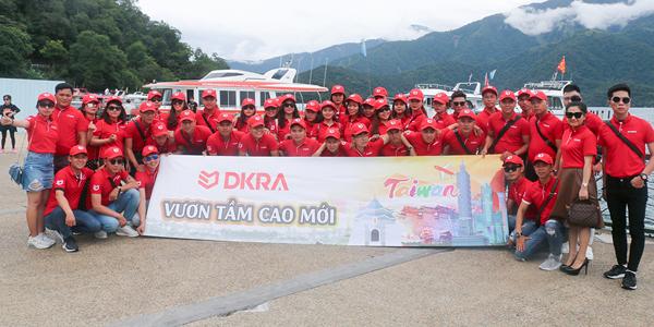 """DKRA Vietnam """"xuất ngoại"""" Đài Loan 180 """"chiến binh"""" sales"""