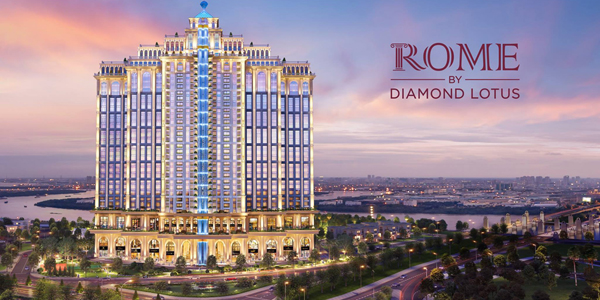 ĐẲNG CẤP DẠ TIỆC ROME DIAMOND LOTUS