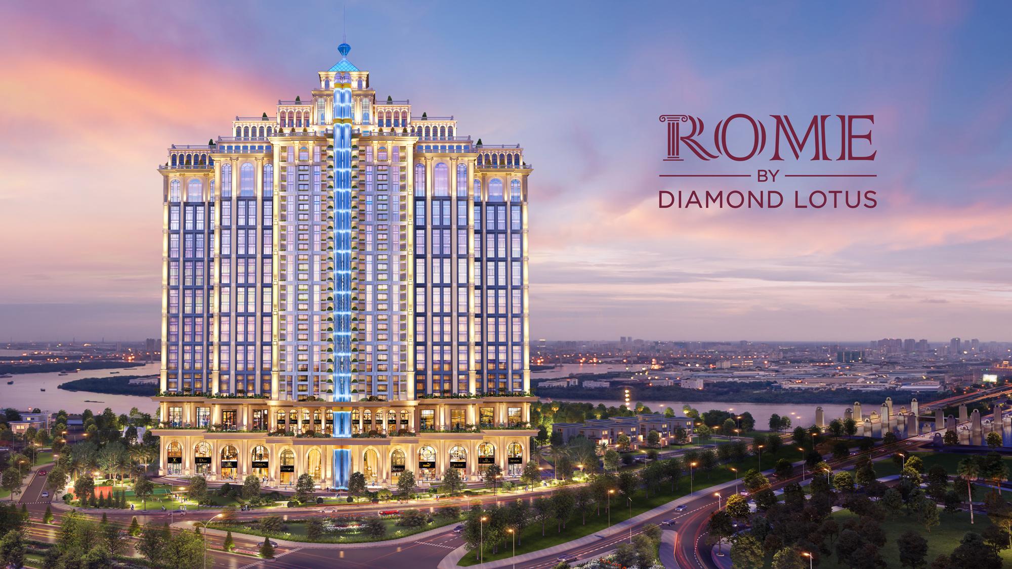 DKRA Vietnam là đơn bị phân phối chủ lực cho Dự án Rome by Diamond Lotus (CĐT Phúc Khang)