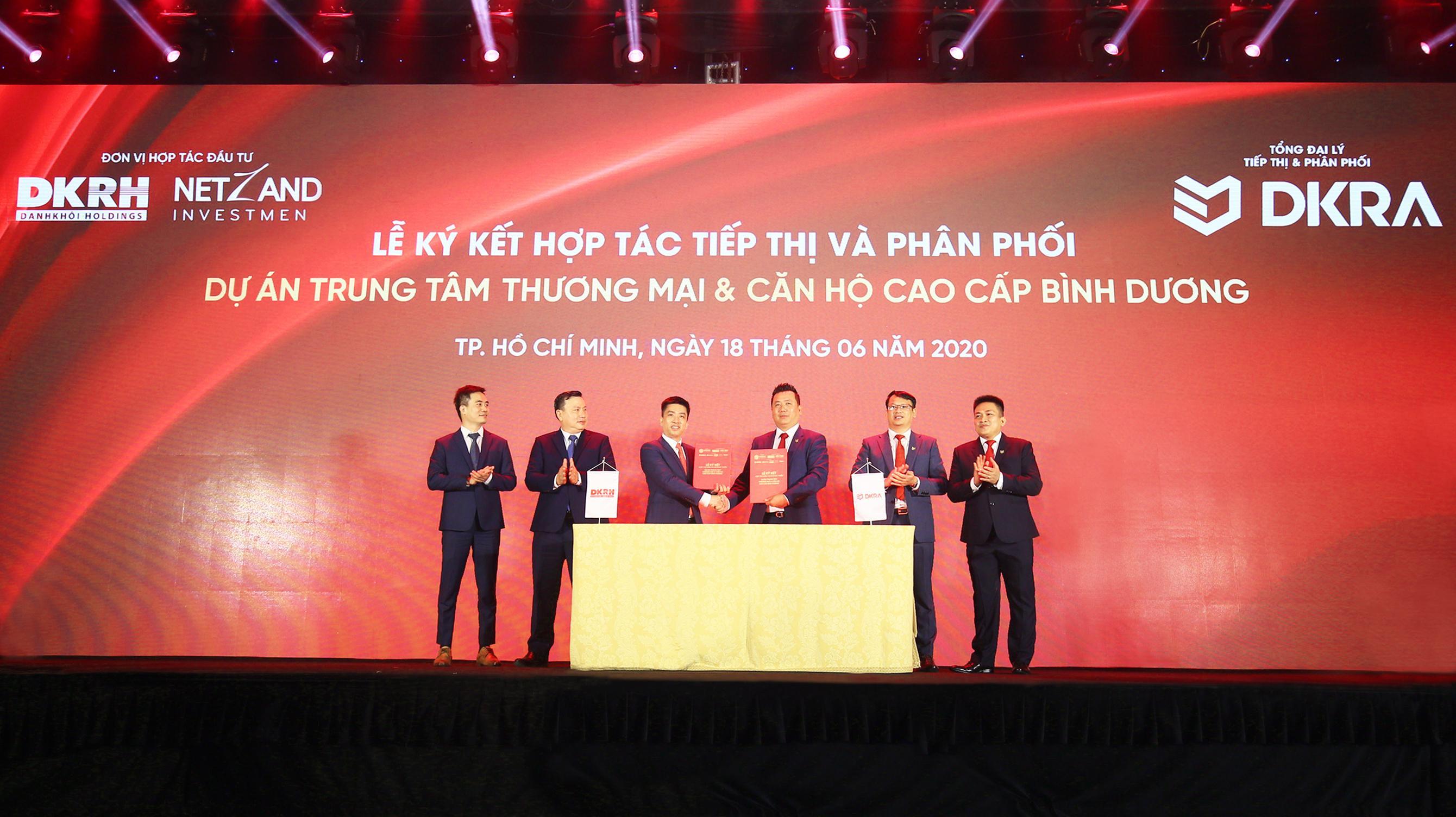 DKRA Vietnam làm tổng đại lý tiếp thị và phân phối dự án trung tâm thương mại & căn hộ cao cấp Bình Dương